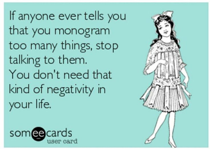 Monogramming: Admitting you have a problem - Hunky Hanoverian