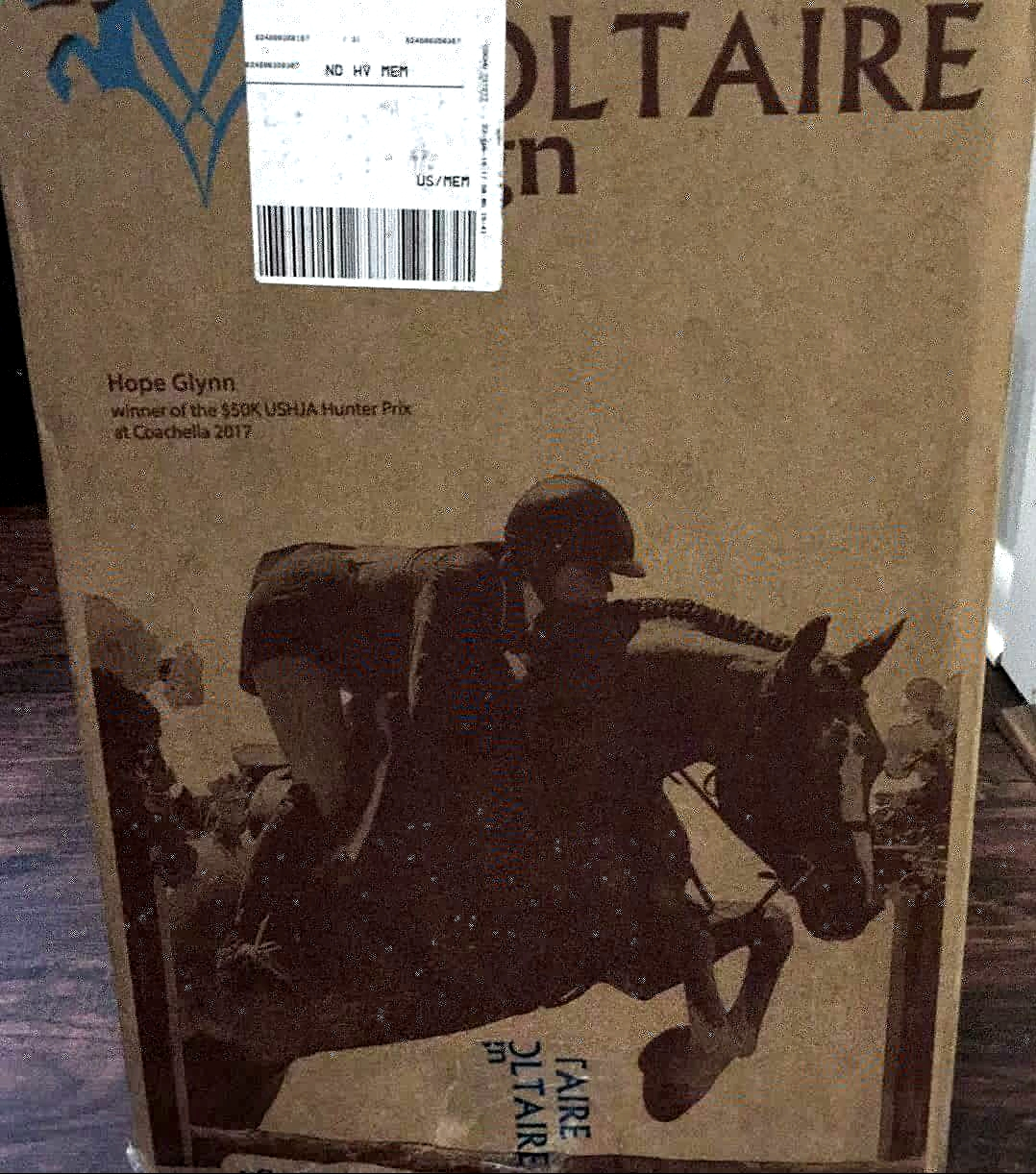 voltaire design saddle Hunky Hanoverian