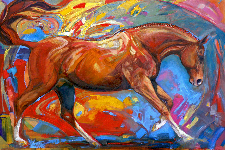 Joanna Zeller Quentin Equestrian Artist Q Amp A Hunky