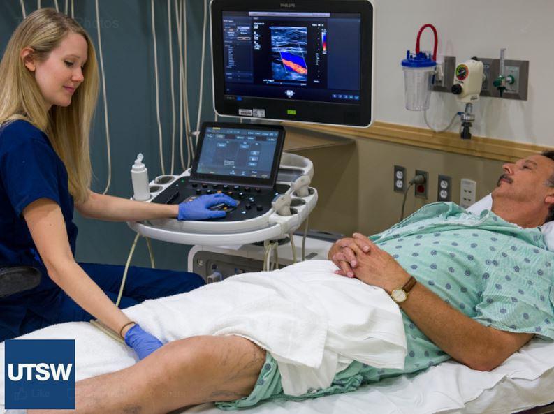 UTSW ultrasound iniversity hospital vascular